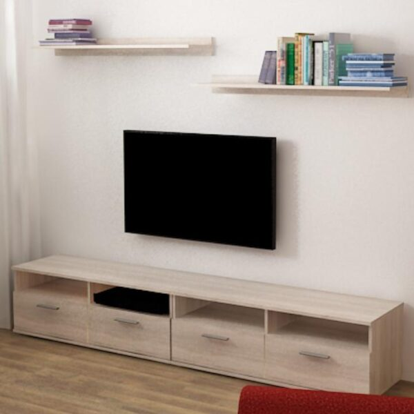 Masă TV, stejar sonoma, NOKO-SINGA 12
