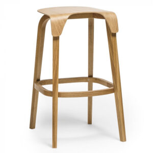 Scaune de bar lemn LEAF