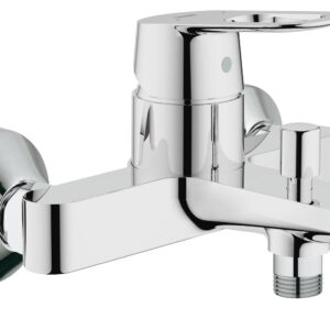 Baterie baie cada Grohe Bauloop,montare pe perete,crom-23341000
