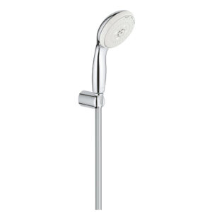 Set dus Grohe New Tempesta 100, 3 tipuri jet, suport prindere, crom100-27849001