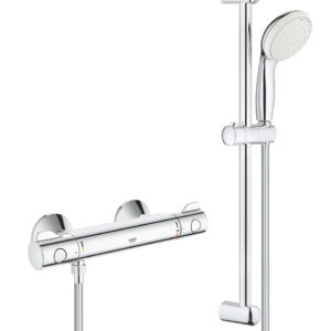 Baterie cabina dus cu termostat Grohe Grohtherm 800 +set dus bara-34565001