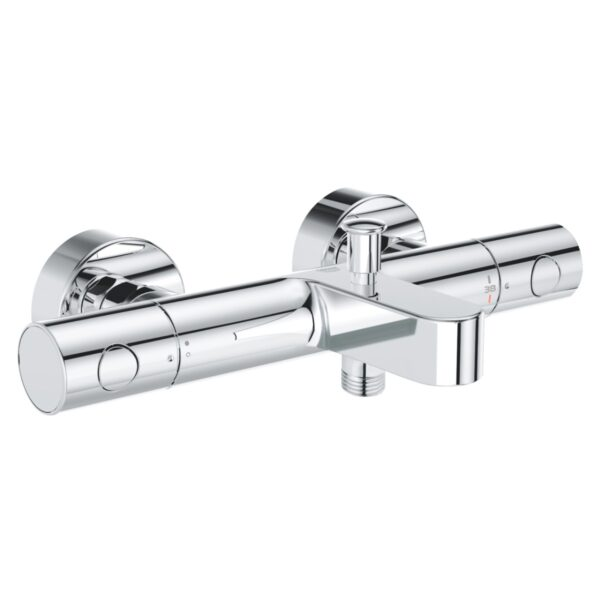 Baterie cada/dus Grohe Grohtherm 800 Cosmo ,termostat,crom,montare perete-34766000
