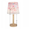 Lampă pe picior, lemn/material, model flori, QENNY TYP 8 LT6026