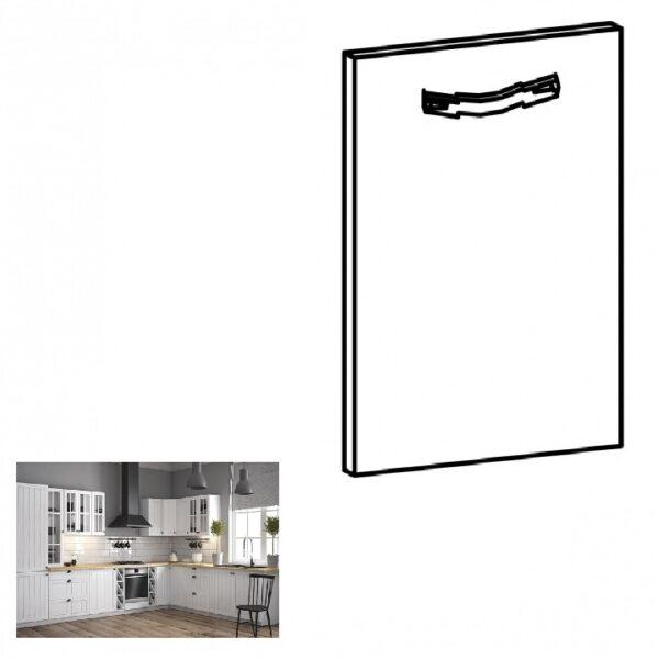 Uşă pentru maşină de spălat vase, pin andersen, 44,6x71,3, PROVANCE