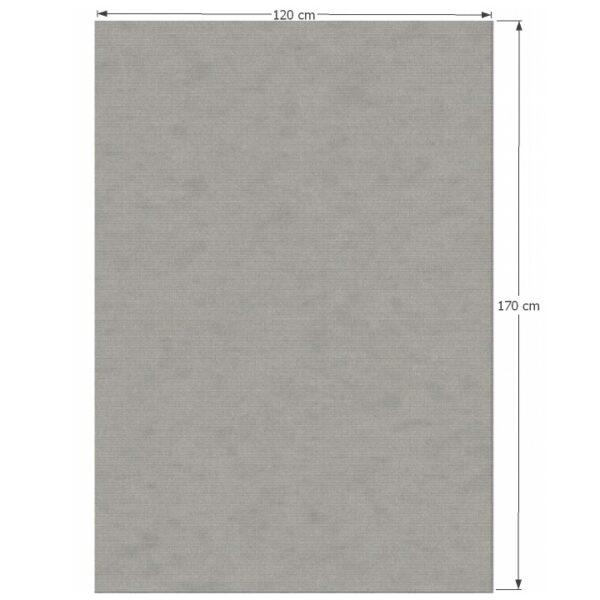 Covor 120x170 cm, gri, FRODO