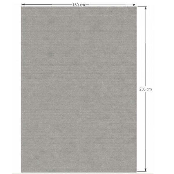 Covor 160x230 cm, gri, FRODO