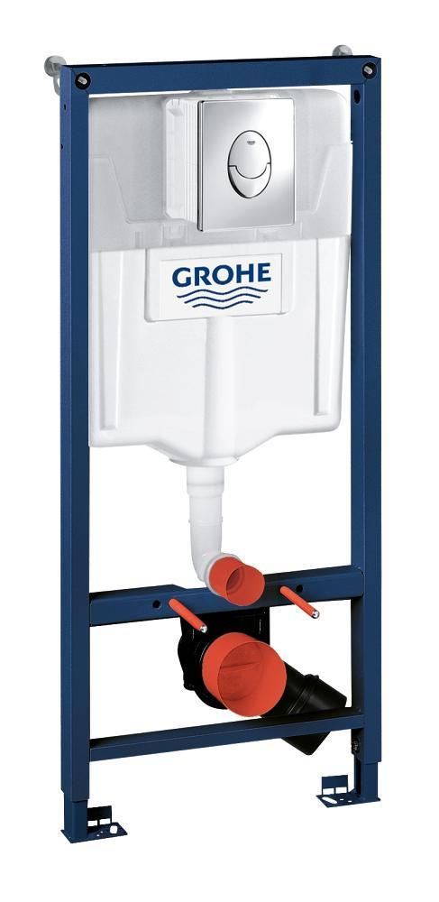 Rezervor wc Grohe Rapid SL set 3 in 1 Skate air, placuta rotunda-38721001