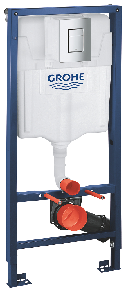 Rezervor wc Grohe Rapid SL set 3 in 1 placuta patrata-38772001