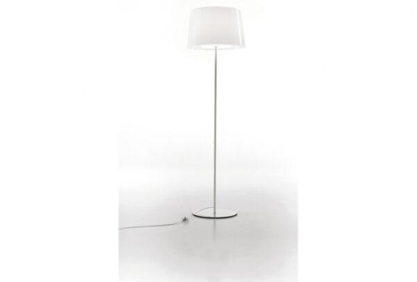 Lampa de podea cu abajur din policarbonat L001ST/BA