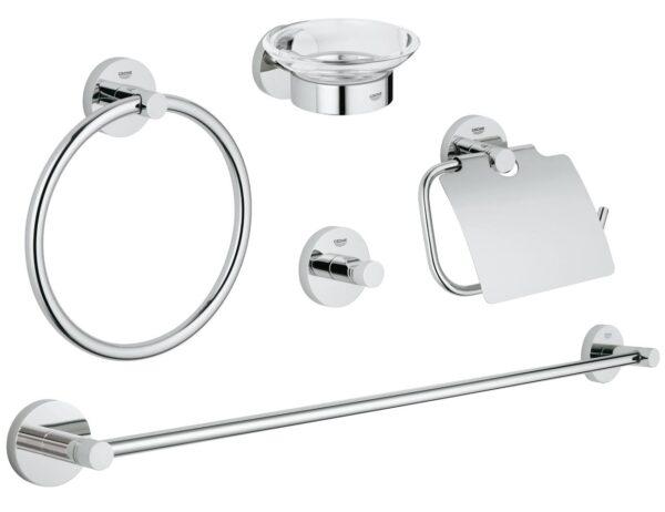 Accesorii baie Essentials set 6 piese-40344001