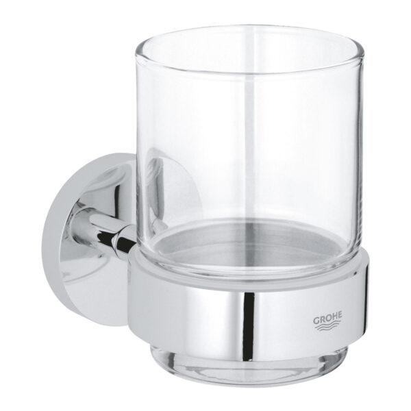 Pahar baie cu suport inclus Grohe Essentials-40447001