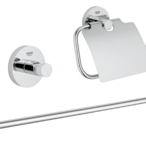 Set accesorii baie 3 in 1 Grohe Essentials-40775001