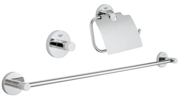 Set accesorii baie 3 in 1 Grohe Essentials-40775001