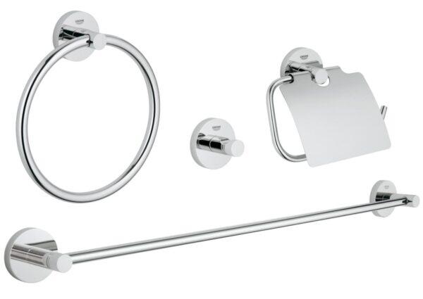 Set accesorii baie 4 in 1 Grohe Essentials-40776001