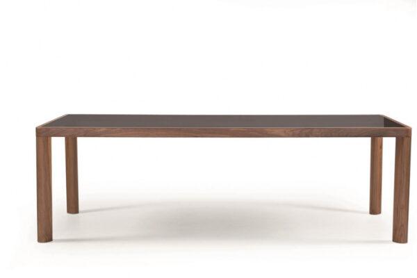 Mese din lemn masiv cu detaliu metalic KA-BERA 001 B