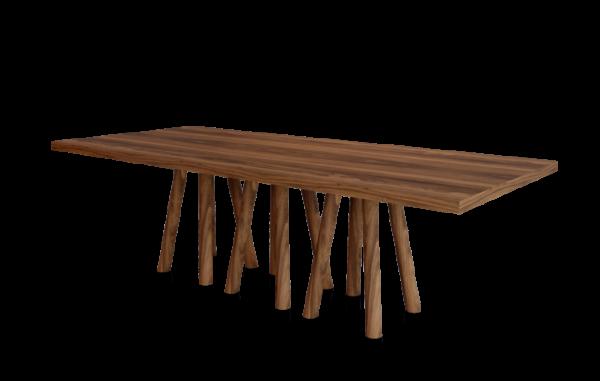 Mese din lemn baza cu 12 picioare MOS-I-KO 001 D