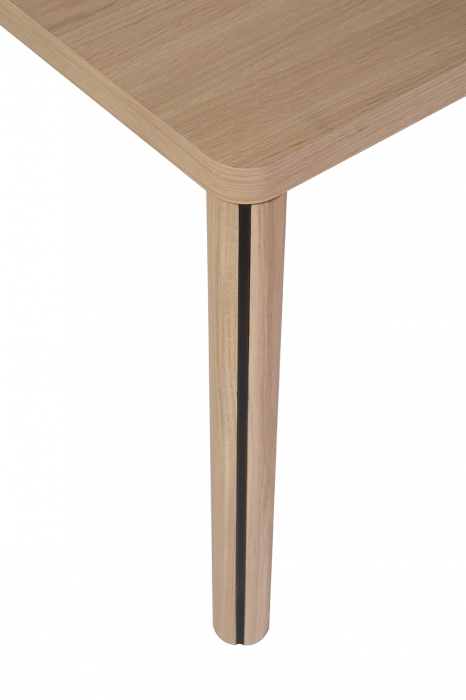 Mese din lemn masiv cu detaliu metalic KA-BERA 001 A