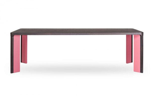 Mese din lemn colturi rotunjite ACRO-BAT 001