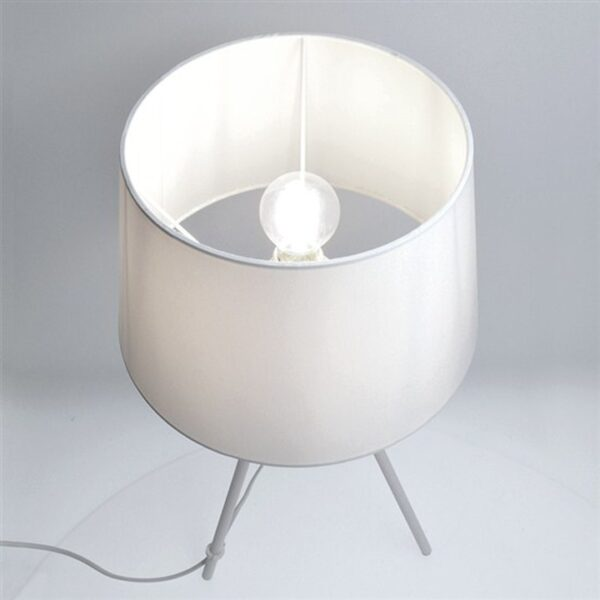 Lampă de masă Milano wa005-w, albă, trepied