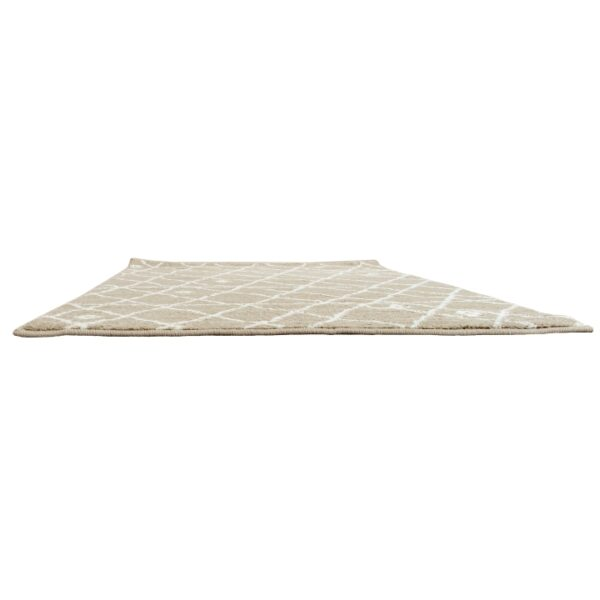 Covor 100x150 cm, bej/alb, TYRON