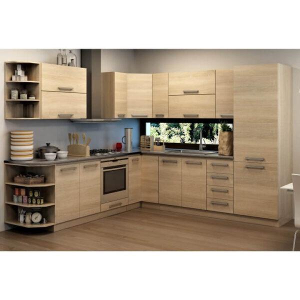 Cabinet inferior 45 1DV, stejar sonoma, NOVA PLUS NOPL-064-0S