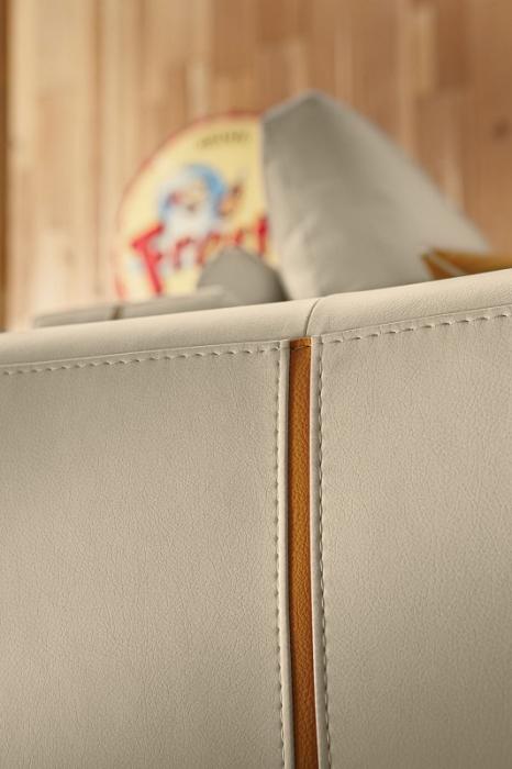 Canapele modulare cu tetiere si sezut extensibil LAURENCE