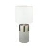 Lampă de masă, gri deschis/alb, QENNY TIPUL 19