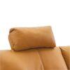 Tetieră, la comandă, piele Pampas Amber M9030, LIBERA