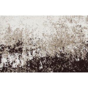 Covor 133x190 cm, crem/maro, LYNTON
