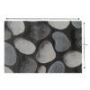 Covor 100x150 cm, maro/gri/model pietre, MENGA