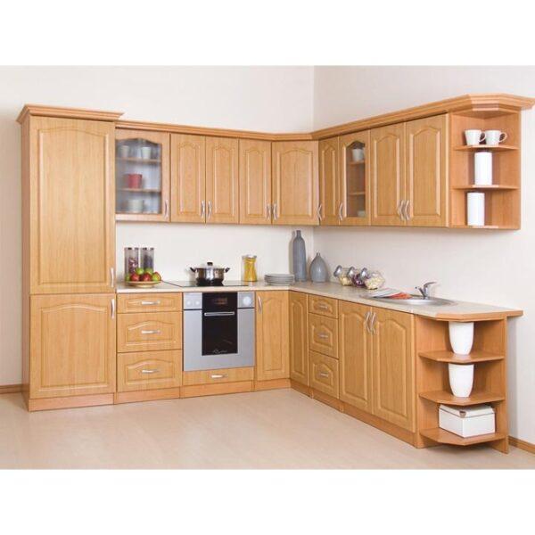 Dulap de bucătărie, pentru alimente, dreaptă, arin, LORA MDF NEW KLASIK S40/210/57