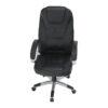 Scaun birou cu funcţie de masaj, negru, TYLER UT-C2652M