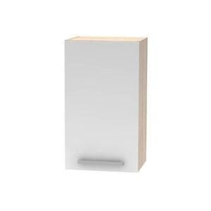 Cabinet superior, alb/stejar sonoma, NOVA PLUS NOPL-005-OH