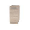 Cabinet inferior 40 1DV, stejar sonoma, NOVA PLUS NOPL-054-0S