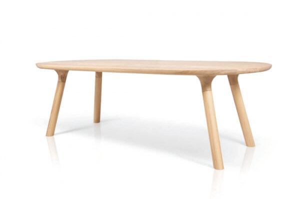 Mese din lemn blat oval BO-EM 001 B