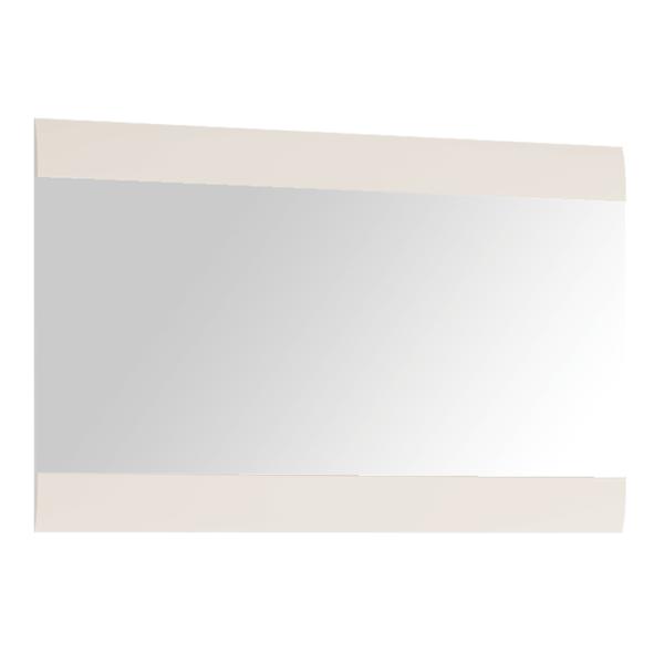 Oglindă mică, alb extra luciu ridicat HG, LYNATET TYP 122