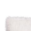 Pernă, alb/argint, 45x45, FOXA TYP 1