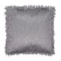 Pernă, gri/argint, 45x45, FOXA TYP 2