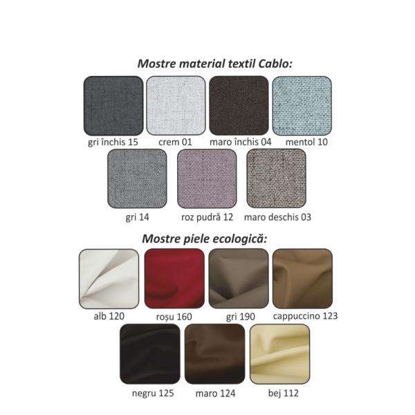 Colţar, material gri, la comandă, dreapta, BORN OTT 1B