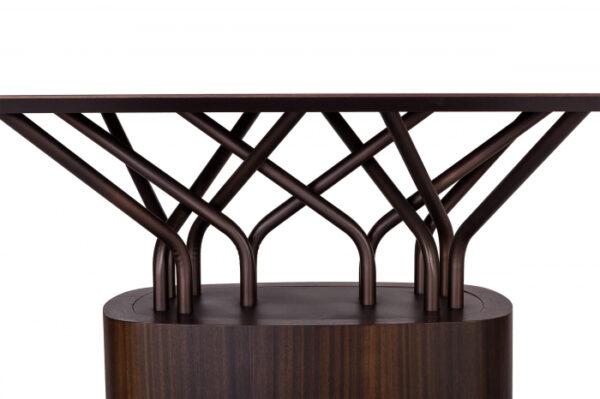Mese lemn structura metalica WOOD-OO 001