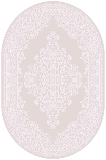 AYSIL-MODEL 1897B-CULOARE D.BEIGE-OVAL 120x180