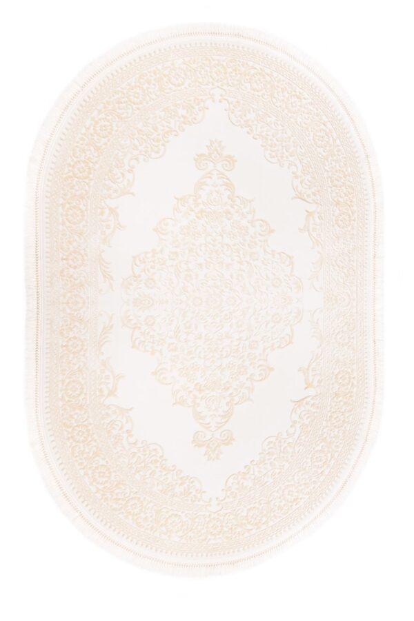 AYSIL-MODEL 1897B-CULOARE BEIGE-OVAL 120x180