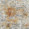 KRIZANTEM- MODEL 1066A- CULOARE TERRA 120x180