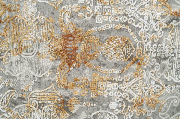 KRIZANTEM- MODEL 1066A- CULOARE TERRA 100x200