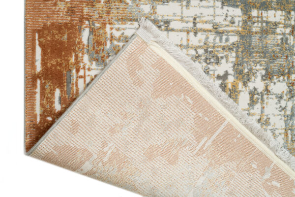 KRIZANTEM- MODEL 1738A- CULOARE TERRA 100x200