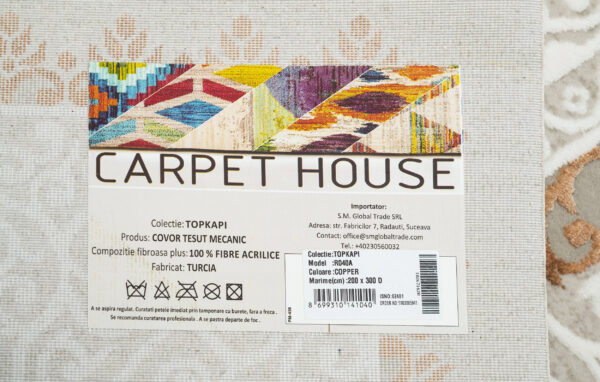 TOPKAPI-MODEL R040A-CULOARE COPPER 100x200