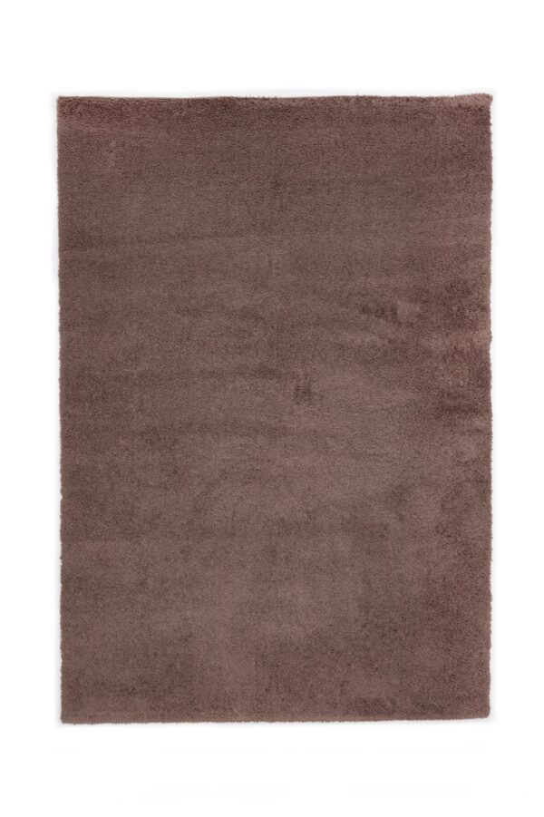 TIARA ECO-MODEL PLAIN-CULOARE BROWN 160x230
