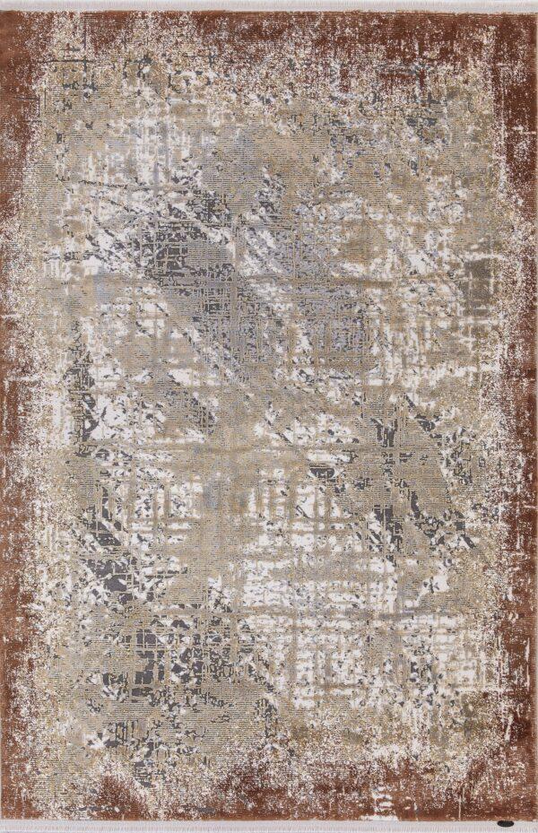 KRIZANTEM- MODEL 1738A- CULOARE TERRA 120x180