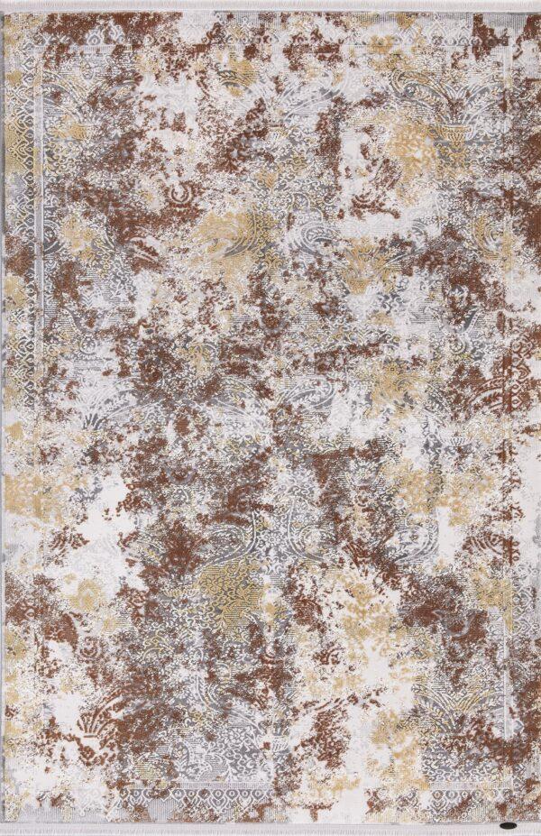 KRIZANTEM- MODEL 1739A- CULOARE TERRA 160x230