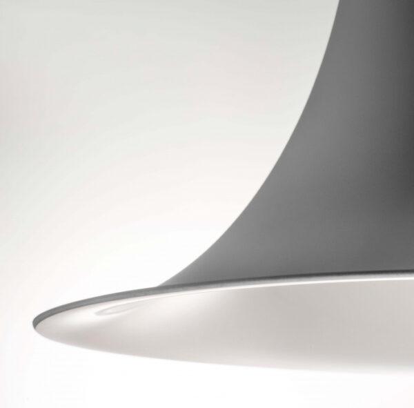 Lampa suspendata cu abajur din policarbonat L004SW/A